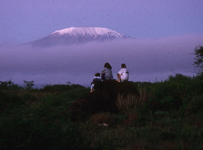 Kilimanjaro from Maasai Centre